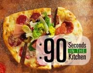 90 Second Rustic Antipasto Flatbread