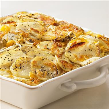 Sage and Cheddar Potato Gratin Recipe