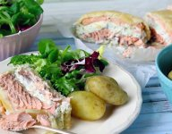 Creamy Salmon En Croute Recipe