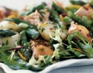 Salmon Red Potato and Asparagus Salad