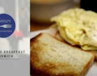 60 Second Breakfast Sandwich