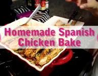 Homemade Spanish Chicken Bake