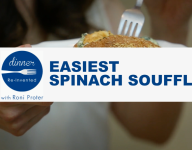 Easiest Spinach Souffle