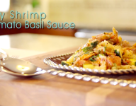 Spicy Shrimp Tomato Basil