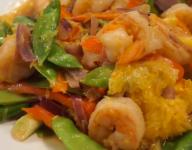 Orange Shrimp Stir-Fry