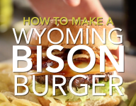 How To Make A Wyoming Bison Burger