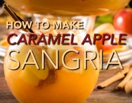 How To Make Caramel Apple Sangria
