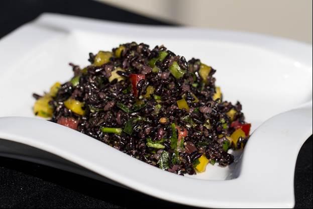 Ruby's Forbidden Sesame Rice Pilaf