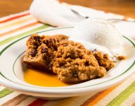 Slow Cooker Indian Pudding