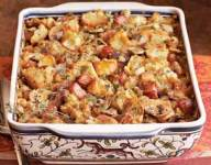 Smoky Bacon Biscuit Dressing