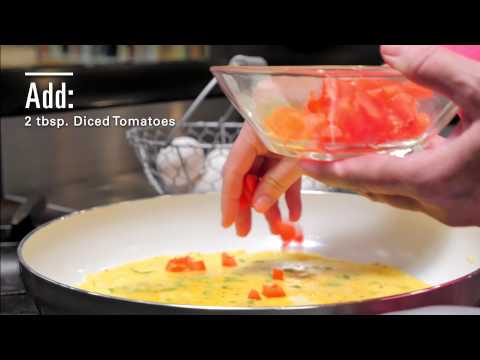 90 Second Gourmet Detective: Victimless Omelette Recipe