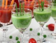 Tomato Carrot Soup Shots