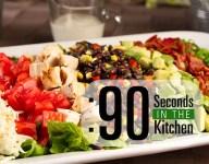 90 Second Southwest Cobb Salad with Fiesta Black Beans