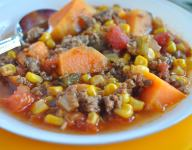 Southwestern Sirloin and Vegetable Soup