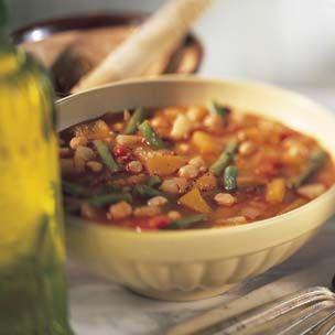 Spanish Pumpkin and Bean Soup