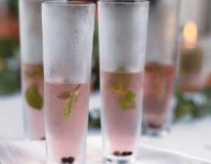 Sparkling Pepper Berry Cocktail