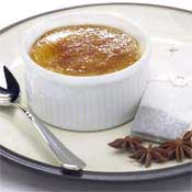 Spiced Jasmine Creme Brulee Recipe