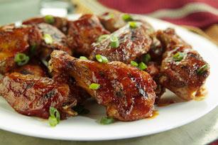 Spicy Sesame Buffalo Chicken Wings