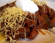 Fire Roasted Steak Chili with Beans