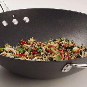 Stir Fried Wild Rice Recipe