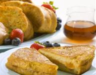 Stuffed French Toast with Cinnamon Spiced Cream Cheese