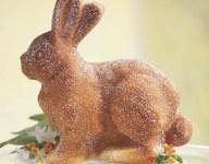 Confectioners' Sugar Bunny Cake