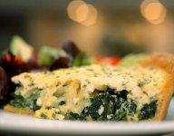 Healthy Spinach Feta Quiche
