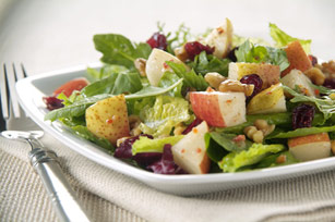 Sweet Cranberry and Pear Tossed Salad