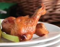 Sweet and Saucy Chicken Drummettes