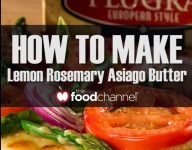 Quick Lemon Rosemary Asiago Butter