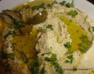 Green Olive Hummus Bi'Tahini
