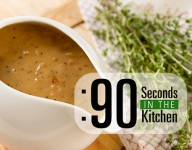 90 Second Thyme Cream Gravy