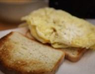 Breakfast Sandwich in Under a Minute