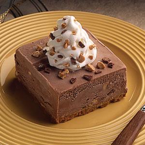 Toffee Crunch Ice Cream Squares