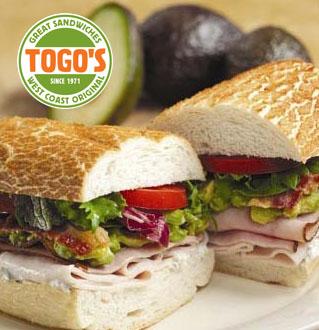 Togo's great sandwiches