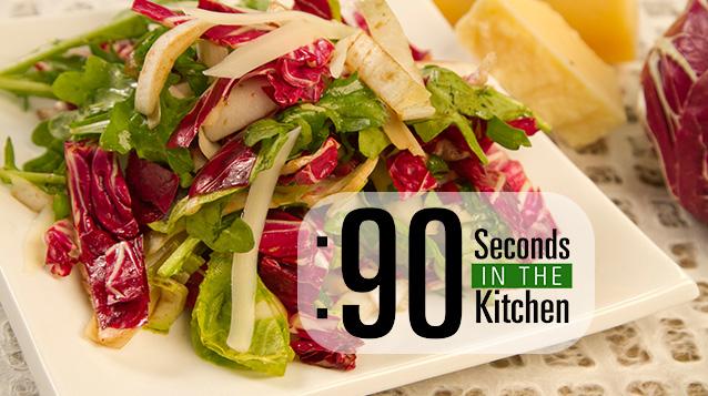 90 Second Tri Colore Salad