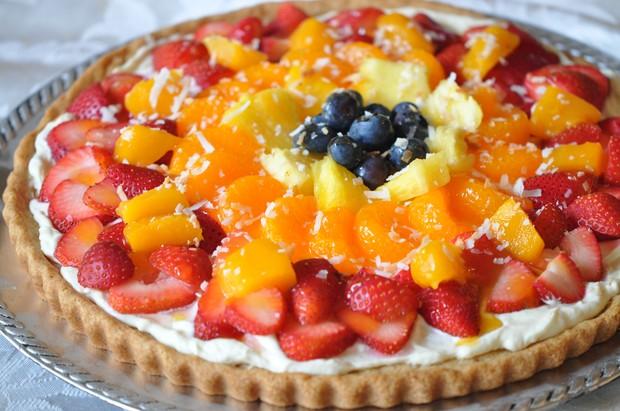 Fresh Fruit Dessert Pizza