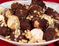 Blue Bunny Fudge Brownie Ice Cream Truffles