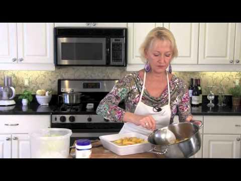 Browned Butter Peach Cobbler