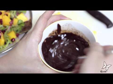 FEELING BUTTERFLIES IN YOUR STOMACH: Mustard Cream Mushroom Steak & Chocolate Balsamic Salad