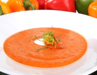 Florida Sweet Bell Pepper Soup