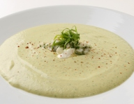 Cucumber and Avocado Soup