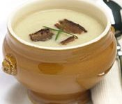 Velvety Parsnip Soup with Smoky Bacon Garnish