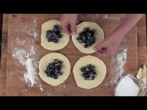 Blueberry Puffs