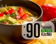 90 Second White Chicken Chili