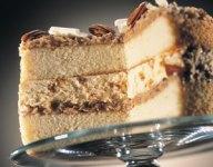 Winter German Chocolate Ice Cream Cake