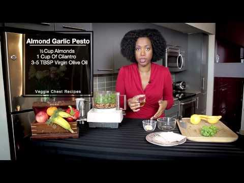 Almond Garlic Pesto