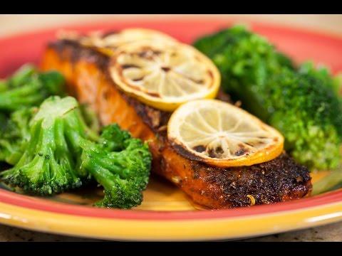 Cajun Spiced Salmon Fillet