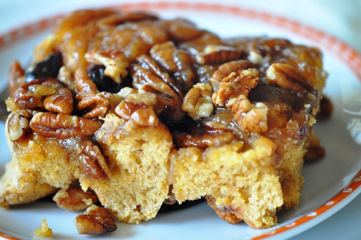 Yummy Yam Praline Coffee Cake