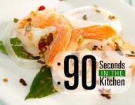90 Second Zesty Pickled Shrimp